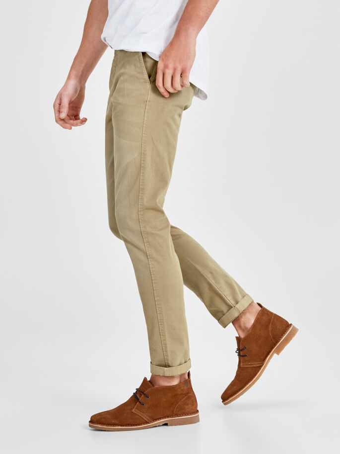 CODY AKM 195 CHINOS, Chinchilla, large