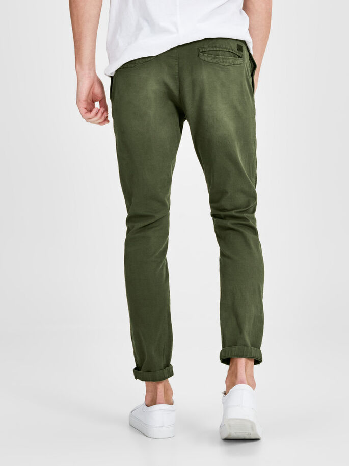 CODY AKM 195 CHINO, Olive Night, large
