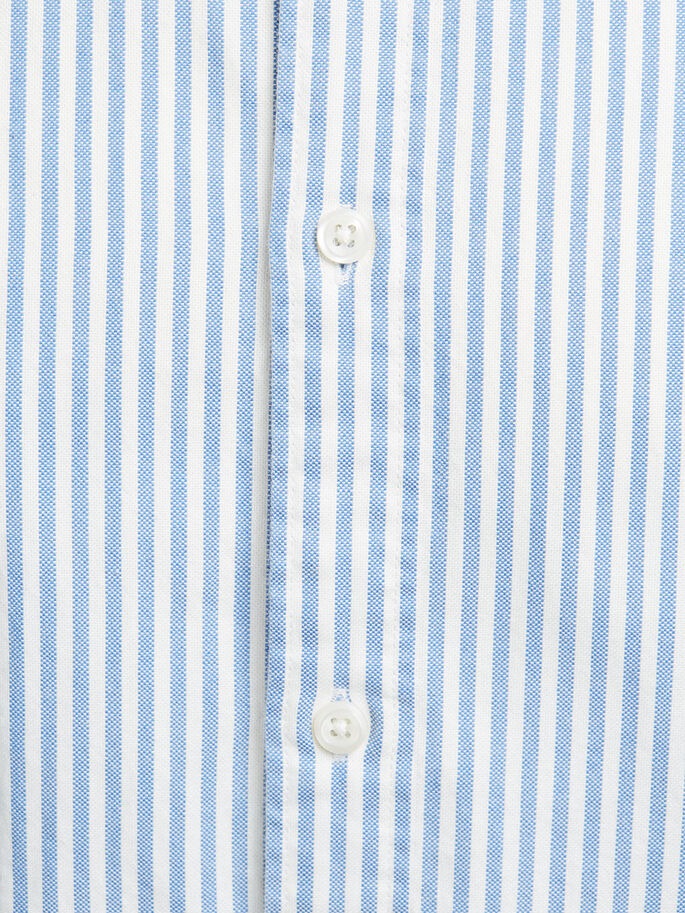 BUTTON-DOWN- LANGARMHEMD, Kentucky Blue, large