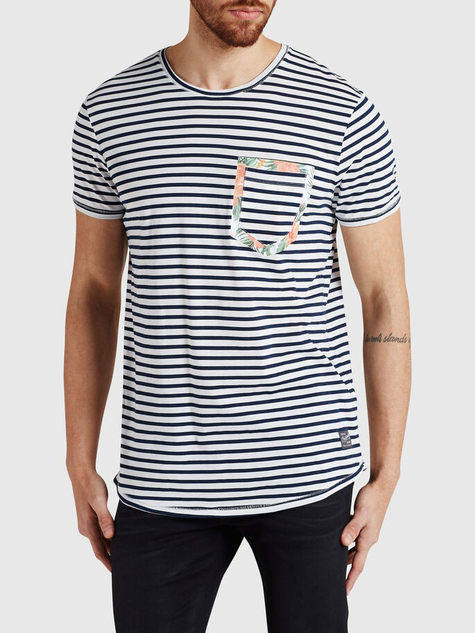 ZAKDETAIL T-SHIRT, White, large