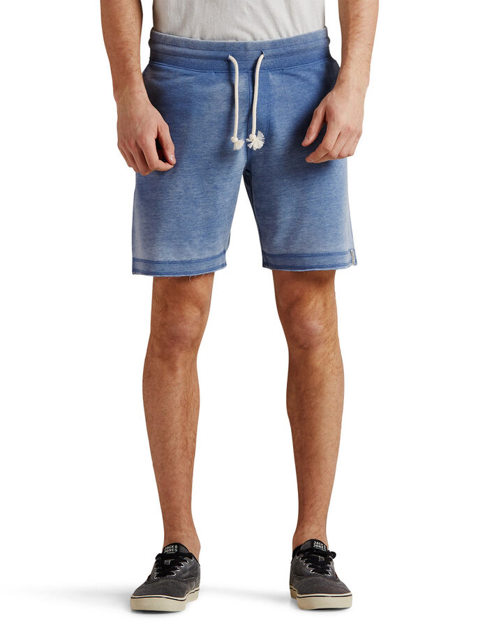 RUGGED SWEAT SHORTS, Federal Blue, large