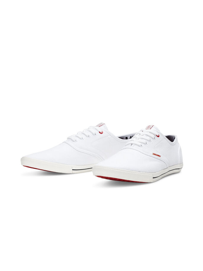 CANVAS TRAINERS, Bright White, large