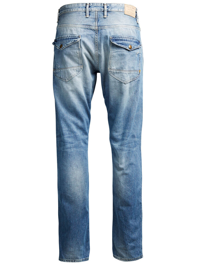 ERIK BL 660 JEAN ANTI-FIT, Blue Denim, large