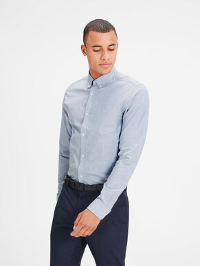 OXFORD BUTTON-DOWN LANGÆRMET SKJORTE