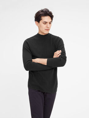 HIGH-NECK- PULLOVER