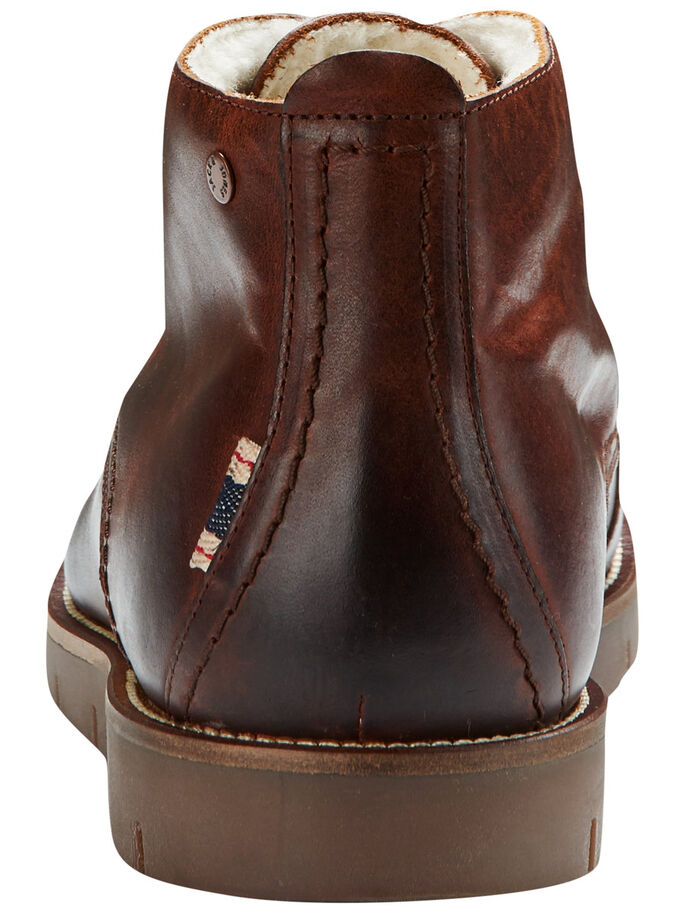 RUSTIKALER WINTER- STIEFEL, Cognac, large