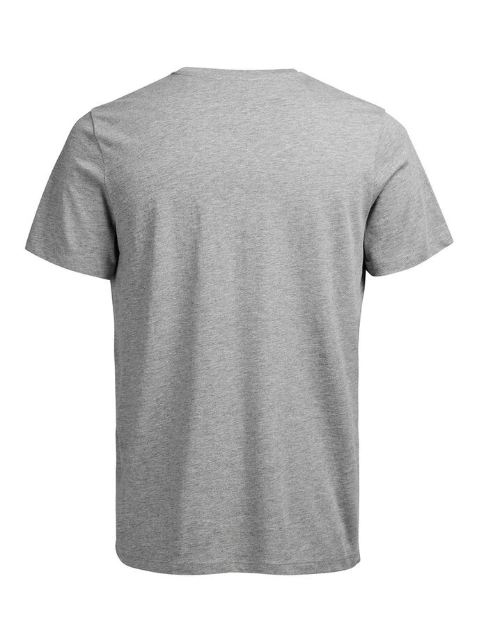 VERSATILE T-SHIRT, Light Grey Melange, large