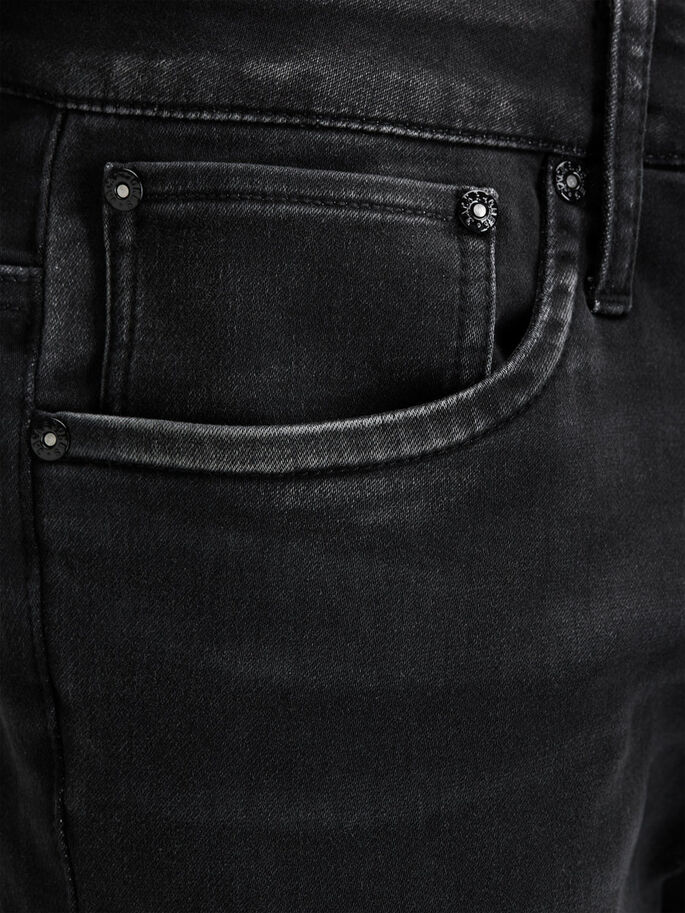 GLENN RYDER GE 105 JEAN SLIM, Black Denim, large