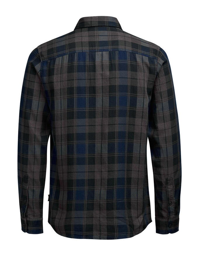 CHECK LONG SLEEVED SHIRT, Rosin, large