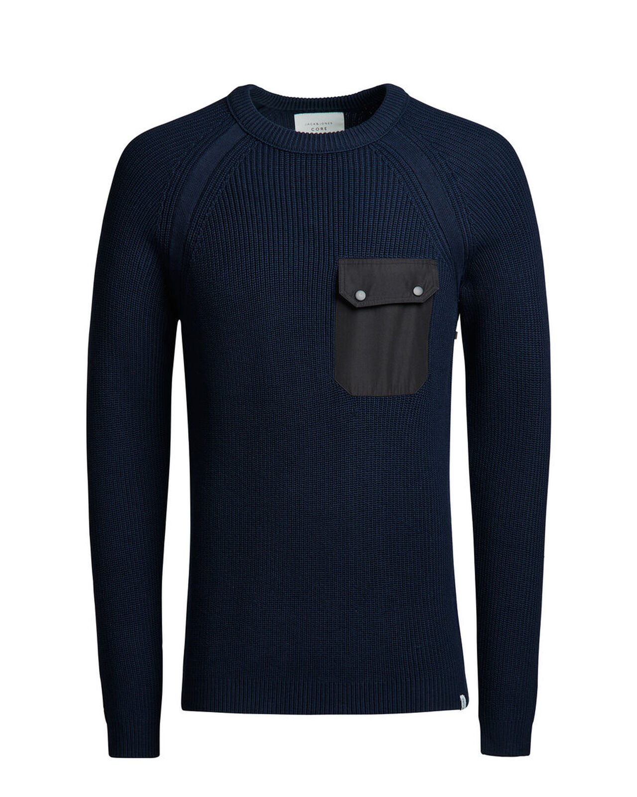 Jack & Jones Strickpullover - Structured Knitted Pullover