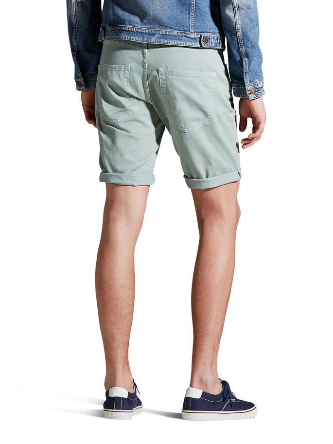 RICK ORIGINAL AKM 198 JEANSSHORTS, Granite Green, large