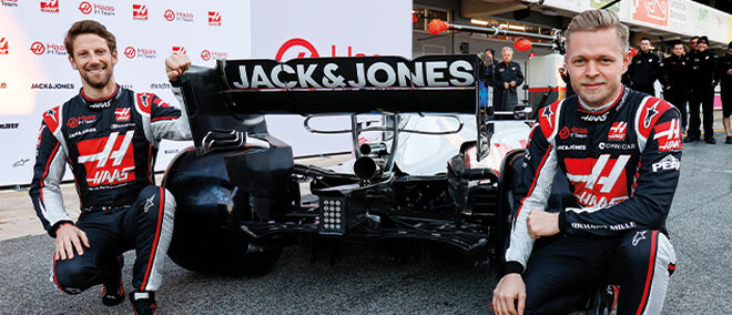 Haas F1 X Jack Jones Collab