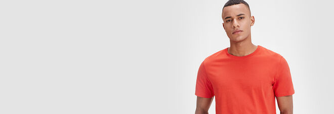 Men's Plain T-Shirts - Jack & Jones