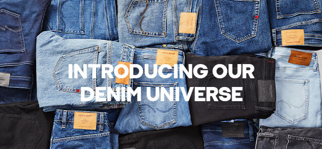 Marte Si suppone che Impressionismo  Jeans & Denim Fashion: Denim Destination by JACK & JONES
