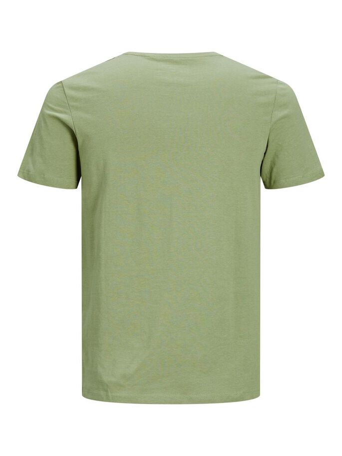 COUPE SLIM LOGO T-SHIRT, Oil Green, large
