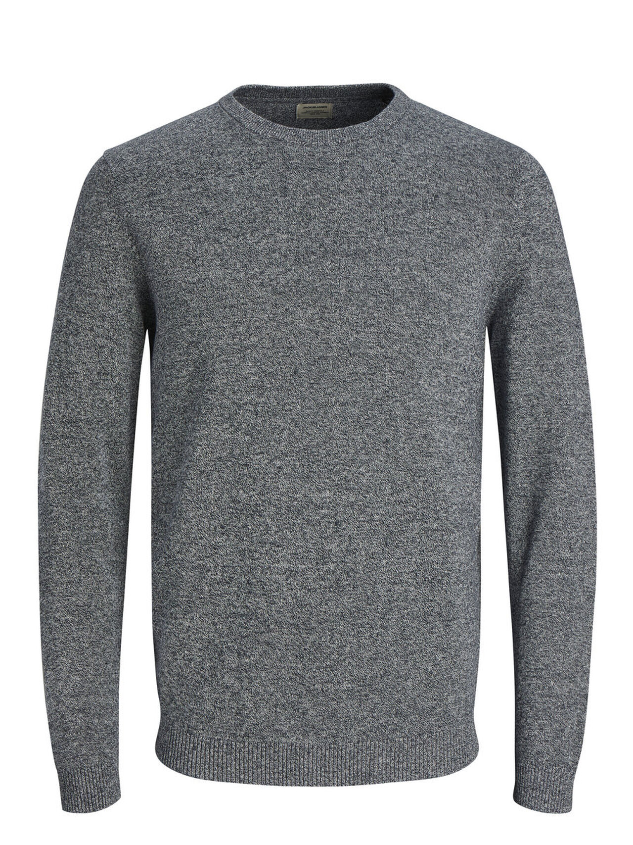 JACK & JONES Classic Knitted Pullover Men Blue