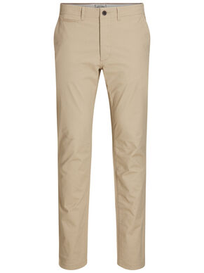 JJIMARCO JJENZO WHITE PEPPER SLIM FIT NOOS BROEK
