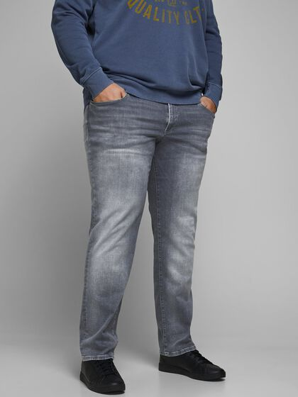 GLENN ICON PLUS SIZE SLIM FIT JEANS