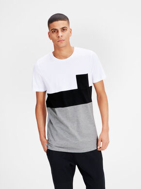 COLOUR-BLOCKING- T-SHIRT