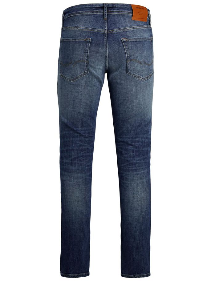 TIM VINTAGE CJ 336 JEANS À COUPE SLIM/STRAIGHT, Blue Denim, large
