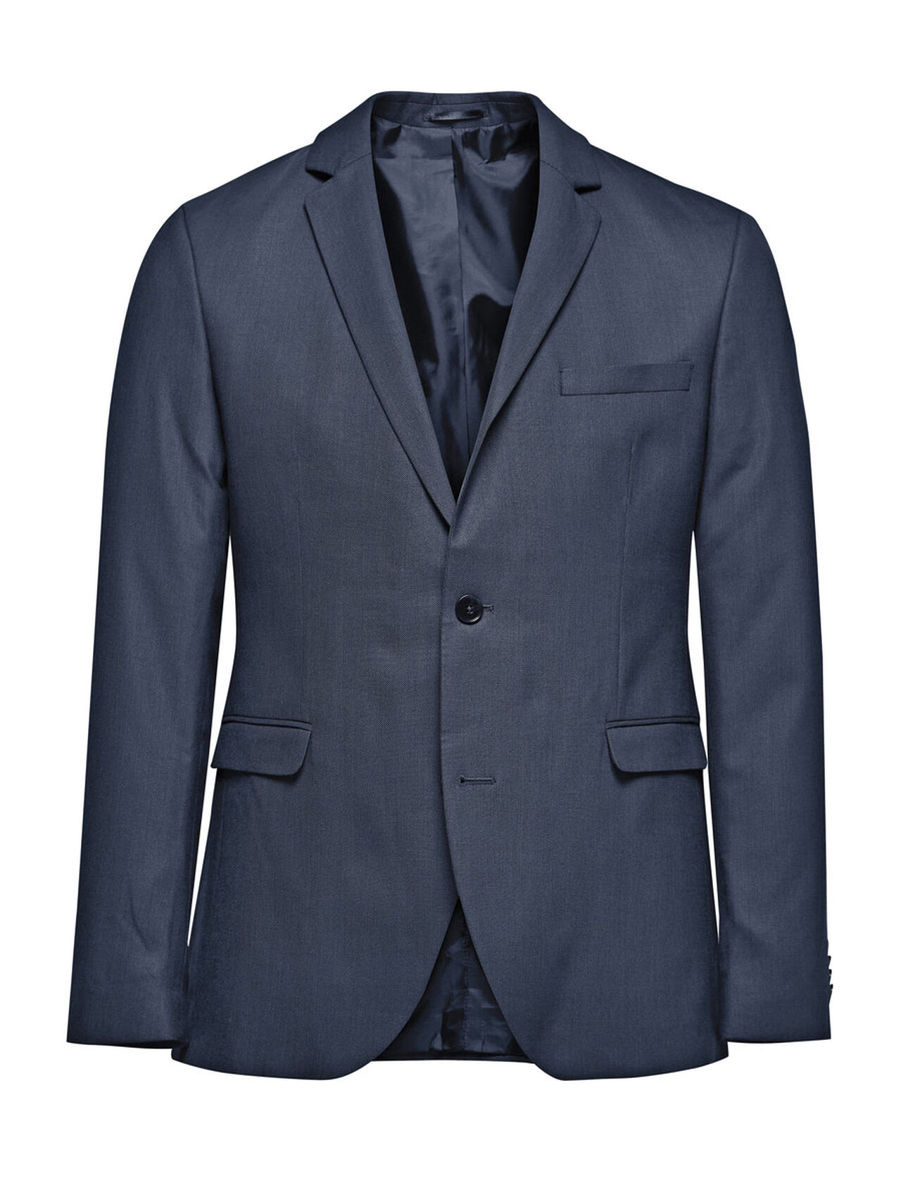 JACK & JONES Slim Fit Blazer Men Blue