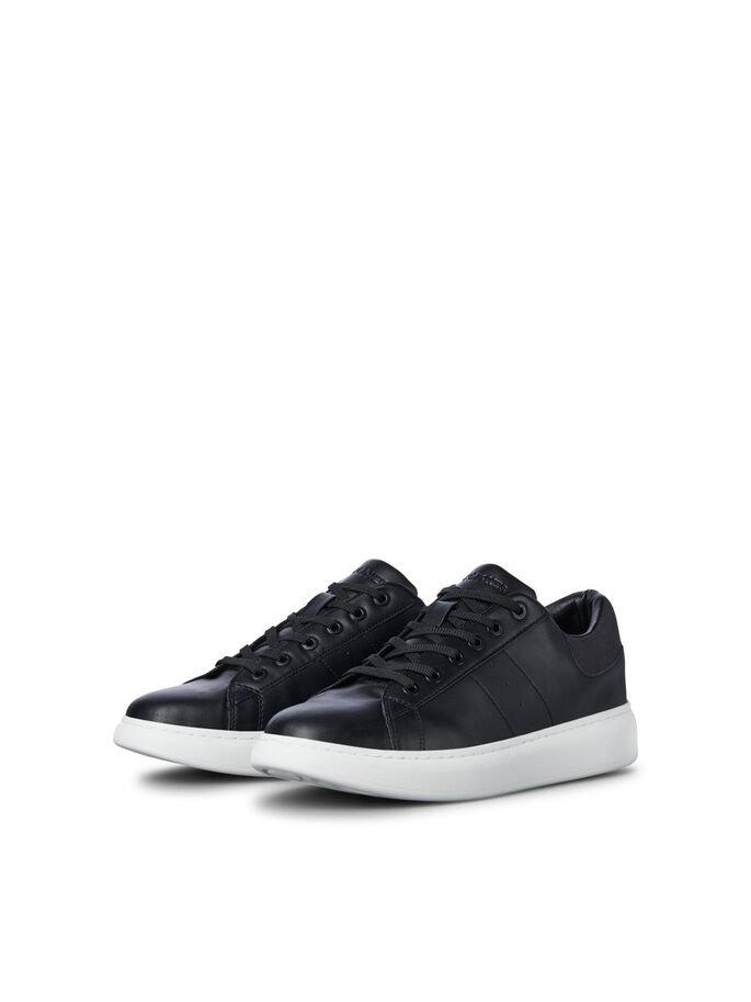 PU LEATHER SNEAKERS, Anthracite, large