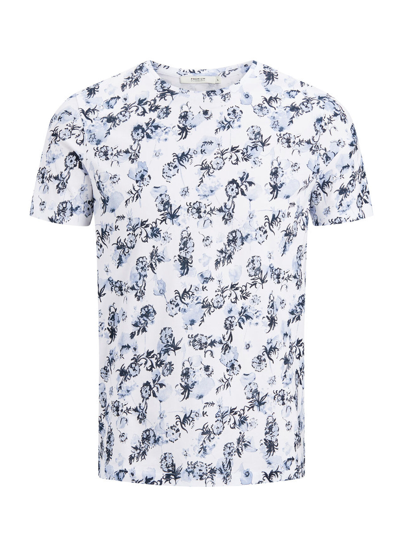 JACK & JONES Print T-shirt Men White