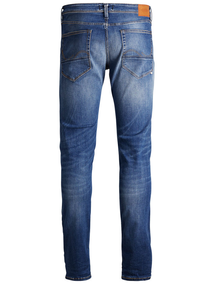 GLENN FOX BL 763 50SPS SLIM FIT JEANS, Blue Denim, large