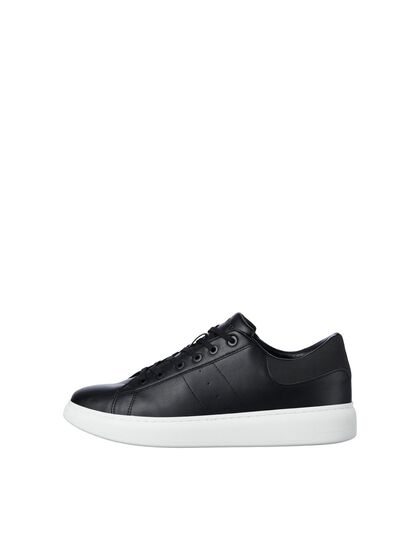 PU LEATHER SNEAKERS