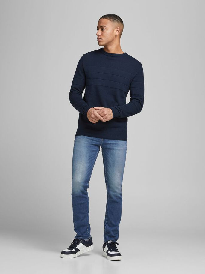 TIM ORIGINAL CJ 926 SLIM/STRAIGHT FIT -FARKUT, Blue Denim, large