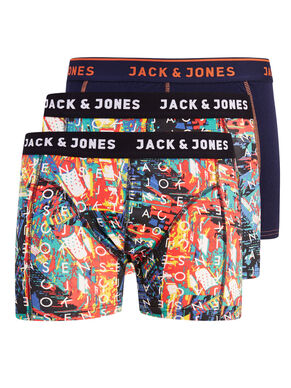 3-PACK PATTERNED BOXERSHORTS
