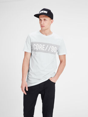 BEDRUCKTES SLIM FIT T-SHIRT