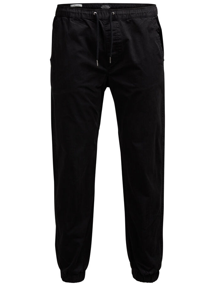 VEGA LANE WW 252 BLACK CHINOS, Black, large