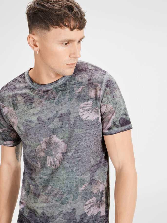 BLEKT T-SHIRT, Cloud Dancer, large