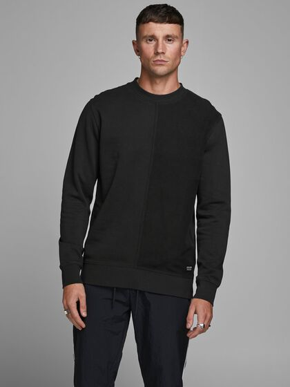 FINITIONS CONTRASTANTES SWEAT-SHIRT