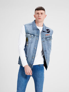JEAN AKM 048 SLEEVELESS JACKET