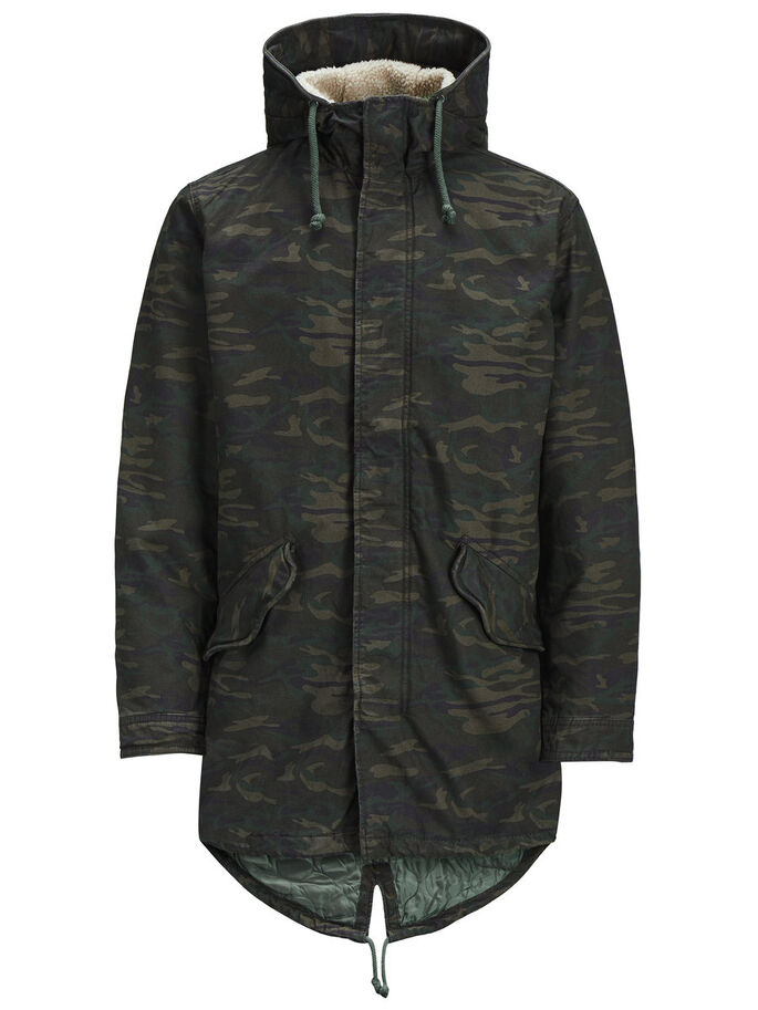 CALDO PARKA, Forest Night, large