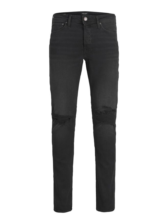 GLENN ORIGINAL CJ 806 SLIM FIT JEANS, Black Denim, large