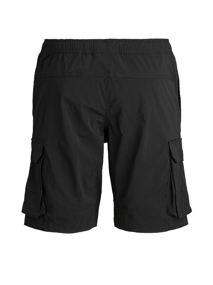 ROSS CARGO SHORTS, Black, large