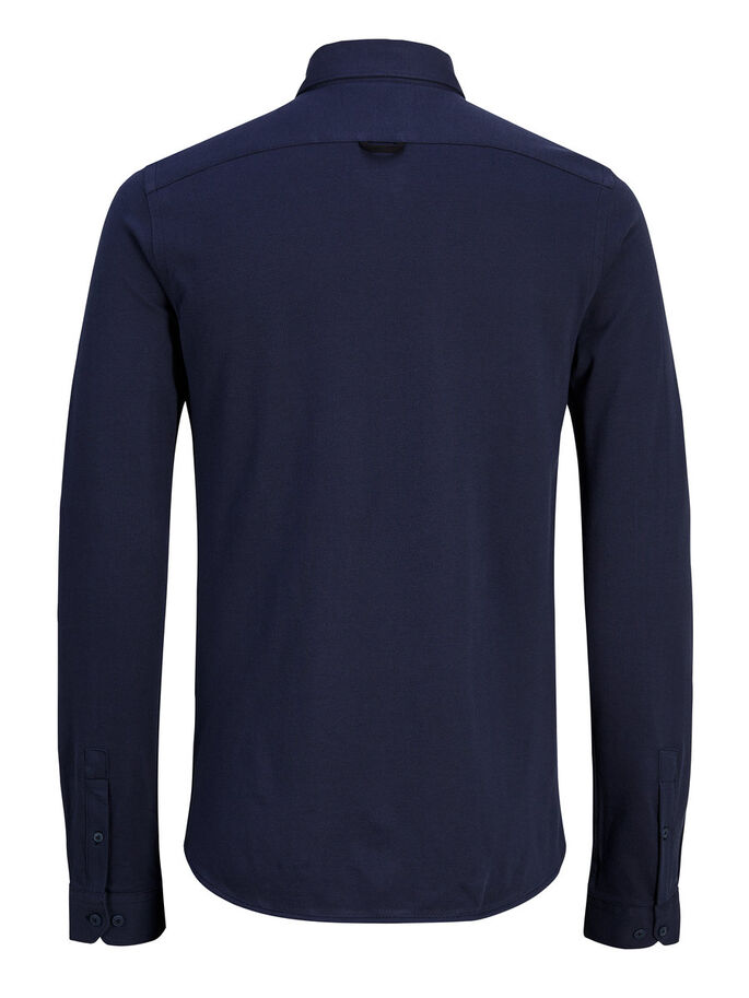 CLASSIC LONG SLEEVED SHIRT, Sky Captain, large