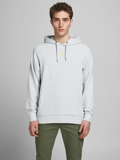 LOOPBACK PLACEMENT-PRINT HOODIE