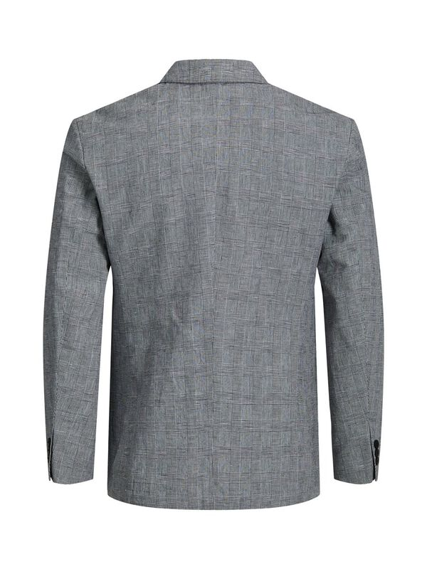 Jack & Jones - Checked Linen Blazer - 2