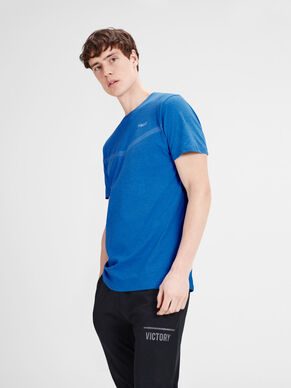 PLAIN REGULAR FIT SPORTS T-SHIRT