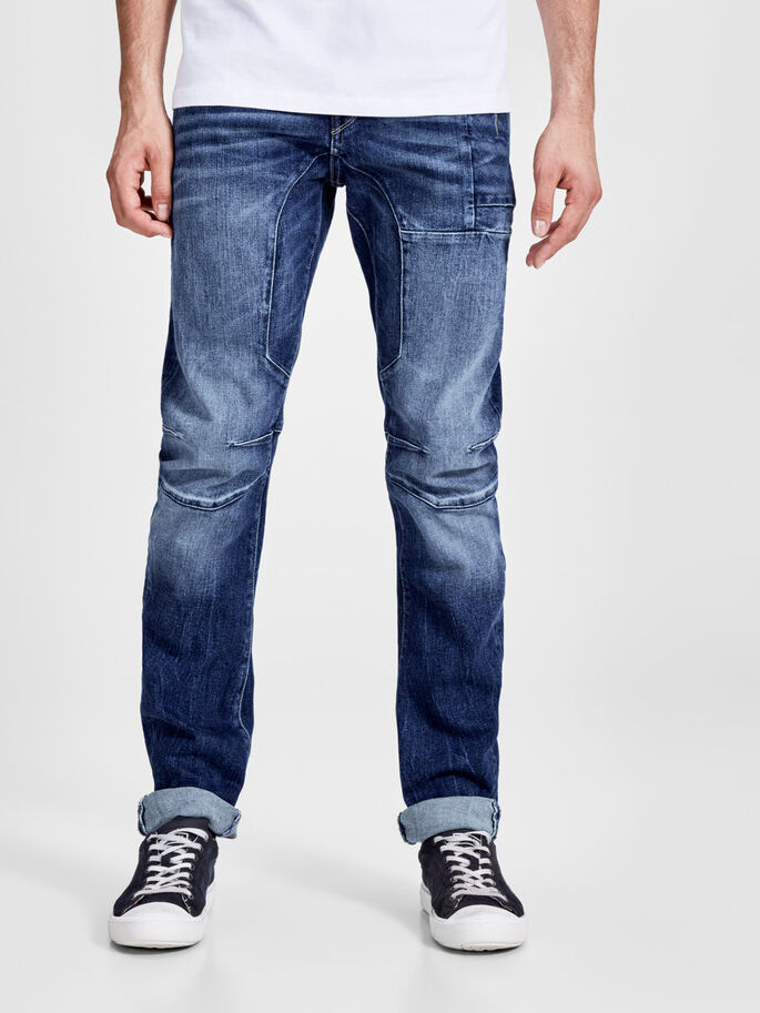 a794d09cced9 JACK & JONES STAN OSAKA 027 TAPERED FIT JEANS