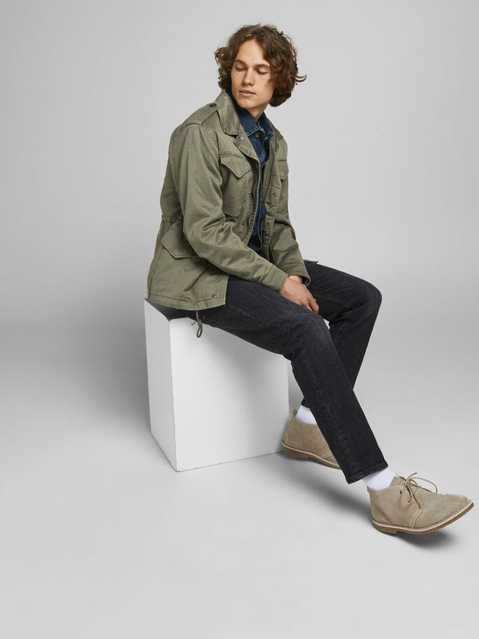 CAMPAÑA M-65 CHAQUETA, Dusty Olive, large