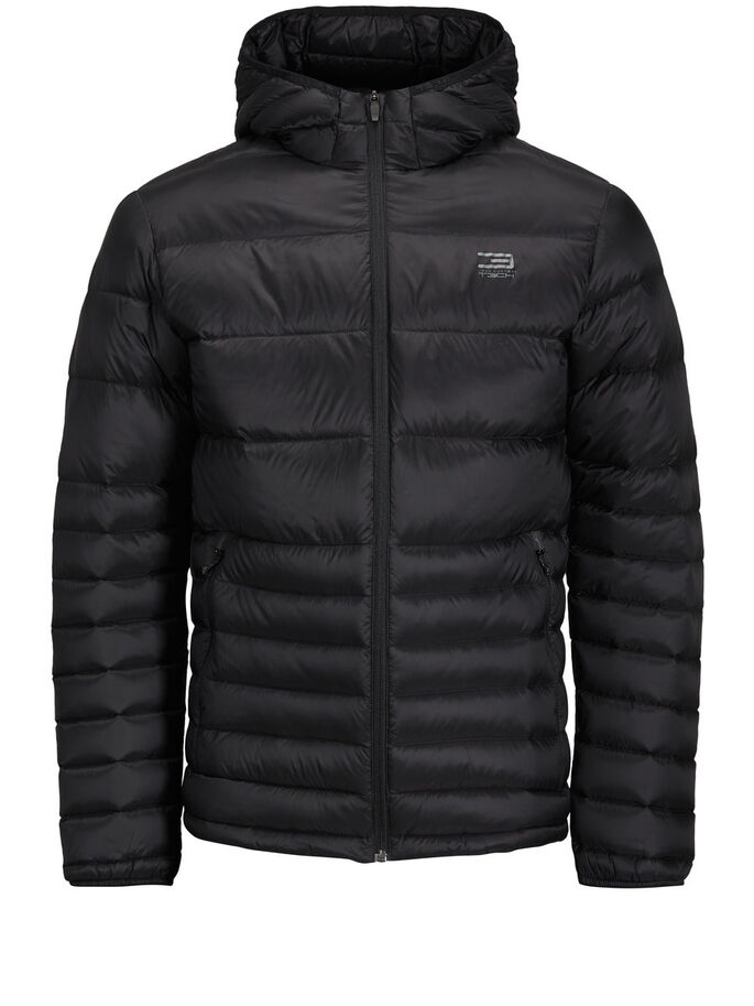 DAUNEN- JACKE, Black, large