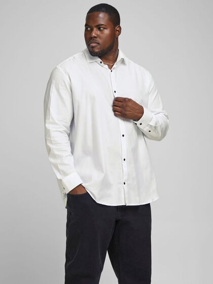 TWILL-WEBSTOFF PLUS SIZE HEMD
