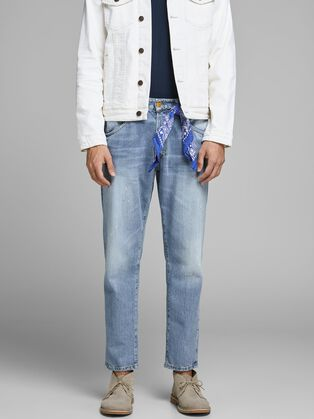 019457e7d08 FRANK LEEN BL 865 TAPERED FIT JEANS