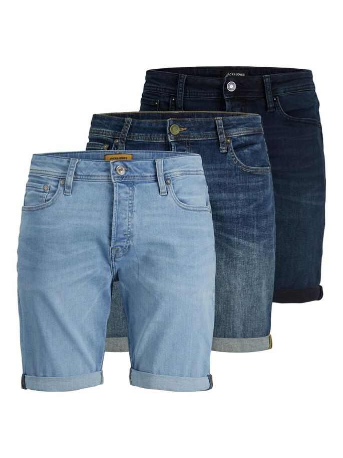 3-PACK RICK ORIGINAL AGI JEANSSHORTS, Medium Blue Denim, large