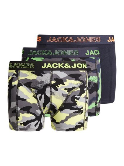 BOYS 3-PACK CAMO PRINT TRUNKS
